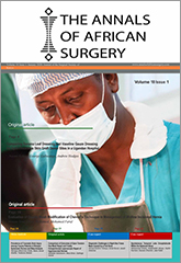 Annals of African Surgery